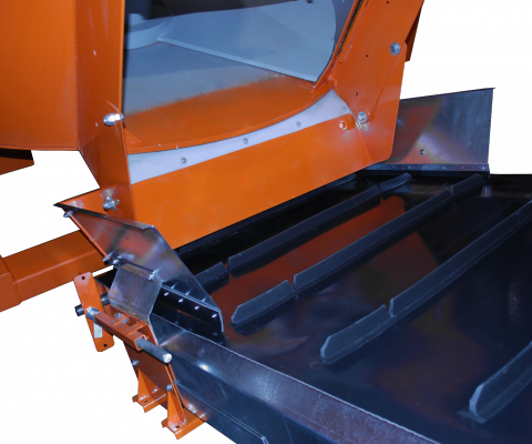Cleated belt conveyor: Ideal for steep slopes
