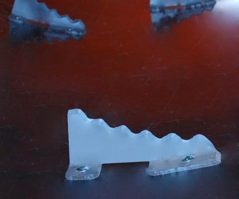Mélangeur à rotor (RTM): Couteaux trempés