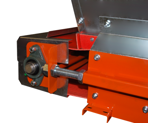 Belt conveyor: Belt tightener