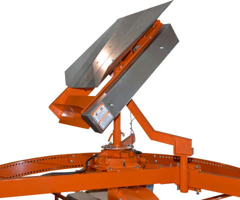Silo unloader – Nordic 215/880 SK: Powered Distributor