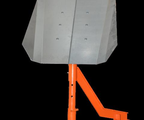 Hybrid Silo Unloader: Gravity type distibutor