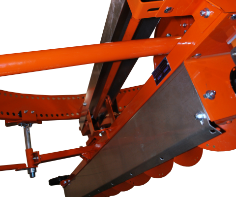 Silo unloader – Nordic 215/880 SK: Powerful auger
