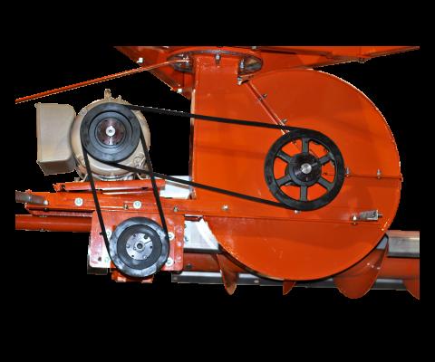 Videur de silo – Hybride: Puissante transmission