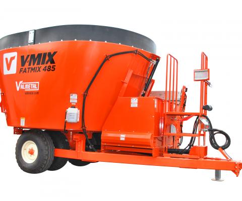 Mélangeur Vertical FatMix (RTM): Grande capacité de chargement