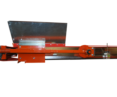 Feeder Kit: Galvanized steel hopper with low profil feeder kit