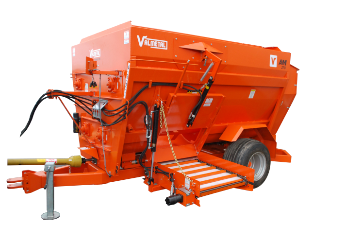 TMR Mobile Four Auger Mixer