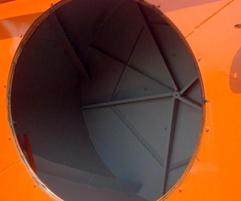 Mélangeur rotatif (RTM): Intérieur