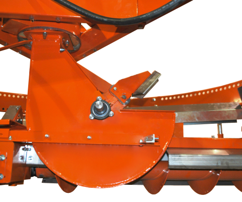 Silo unloader – Nordic 215/880 SK: High capacité blower