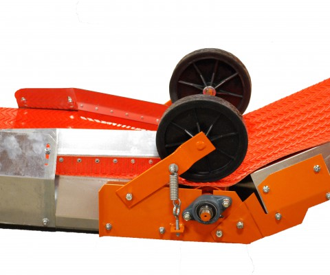 Belt conveyor: Incline section