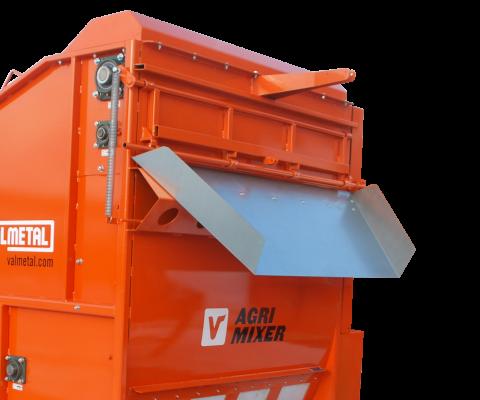 Agrimixer (RTM): Déchargement par le haut