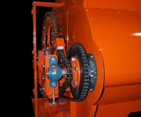 Mélangeur à rotor (RTM): Culbutage