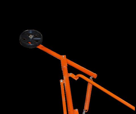 Silo unloader – Nordic 215: Pressure wheel