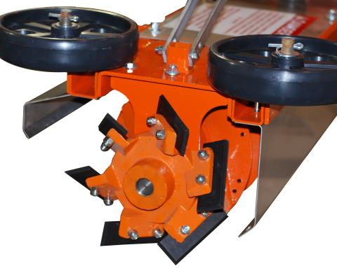 Hybrid Silo Unloader: Chipper wheel