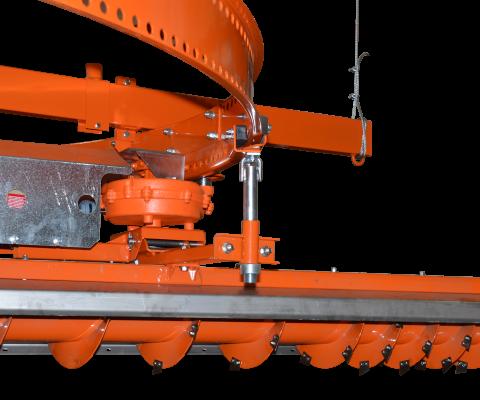 Hybrid Silo Unloader: Robust auger