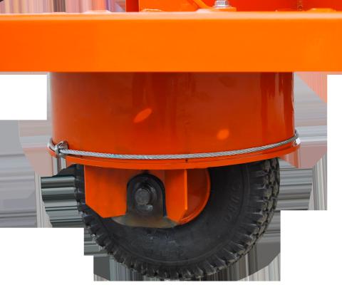 Motorized Feeding Cart – Hydraucart: Drive wheels