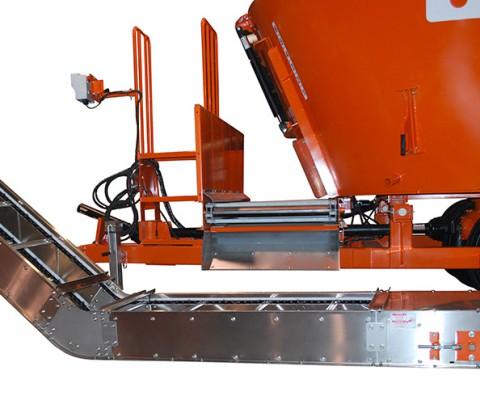 Convoyeur régulateur 24″ (61 cm): Idéal pour décharger d'un mélangeur
