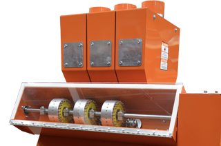 Roller Mill: Proportioners in option