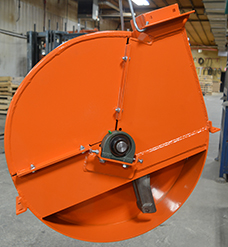 Hybrid Silo Unloader: Heavy-duty impeller