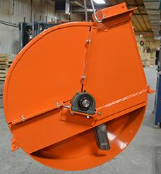 Videur de silo – Hybride: Turbine ultra robuste de 28''