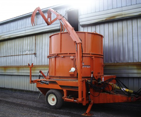 Agri-Chopper – Big bale chopper: Tub extension