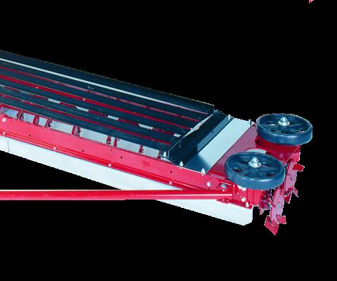 Hanson Twintrac Silo Unloader: Heavy steel 2-PC grill