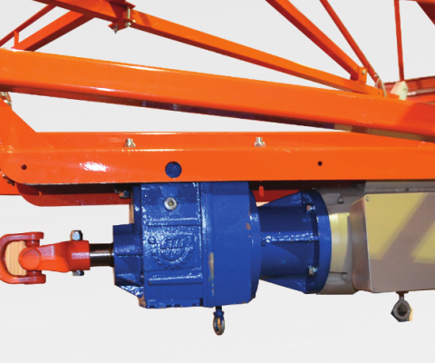 Central silo unloader – V2000: Direct drive systeme