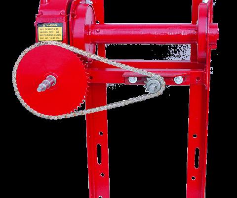 Twintrac Silo Unloader: HS-65 winch