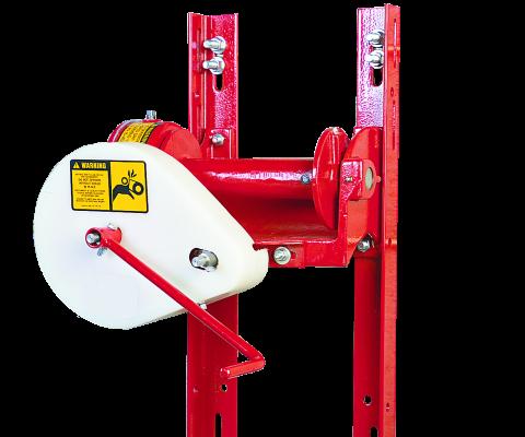 Hanson Twintrac Silo Unloader: Standard winch
