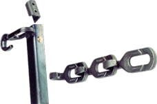 Badger Barn cleaners and chain: HOOK-LOK® chain